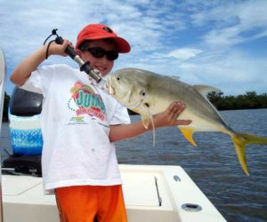 child client with jack crevalle