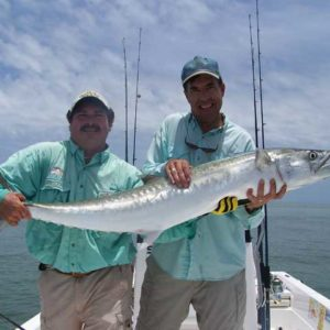 client and jim ross with kingfish