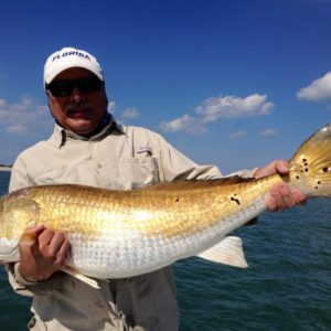 daytona angler with redfish